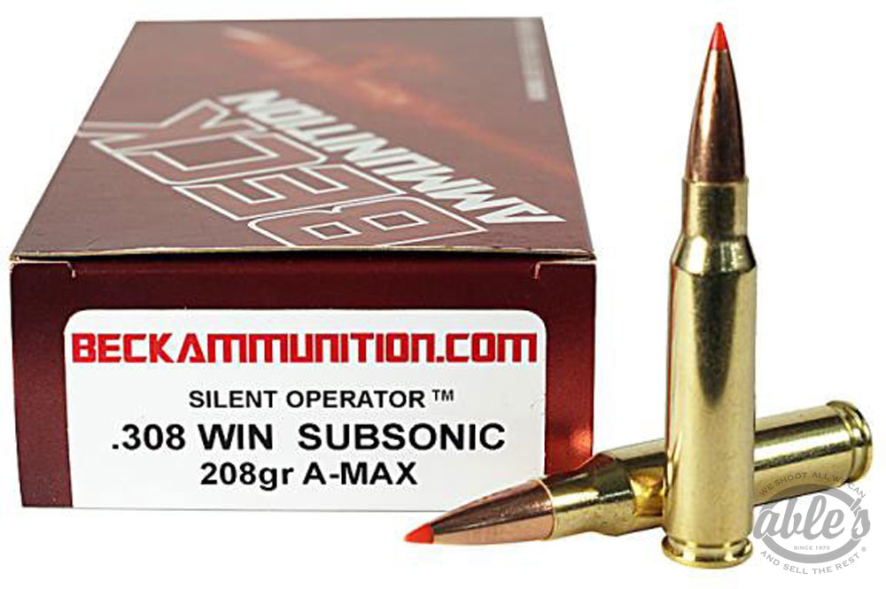 List of Synonyms and Antonyms of the Word: subsonic ammo