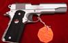Colt Delta Elite Pistol O2020 10 MM 5 in Rubber Grip Stainless Finish 8 Rd