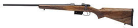 CZ Model 527 American Bolt Action Left Hand Rifle 03090 223 Rem 21 9 Turkish Walnut Stock Blue Finish 4 Rds