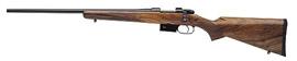 CZ Model 527 American Bolt Action Left Hand Rifle 03090 223 Rem 21 9 Turkish Walnut Stock Blue Finish 4 Rds