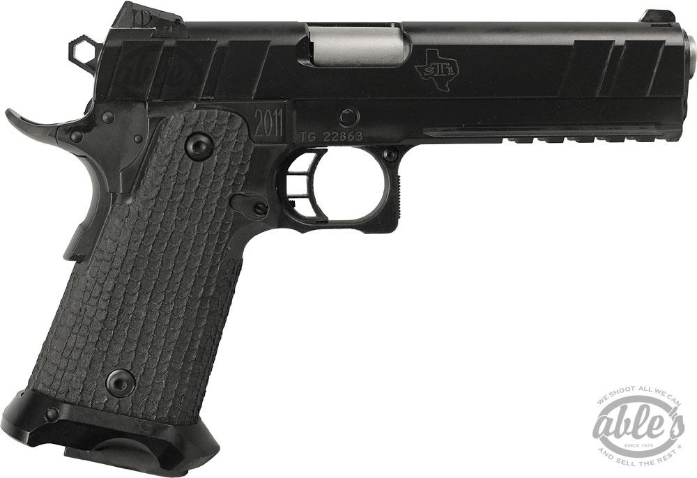STI Nitro 10 Tactical 2011 Pistol 10-250010, 10mm, 5 in, Steel Frame ...