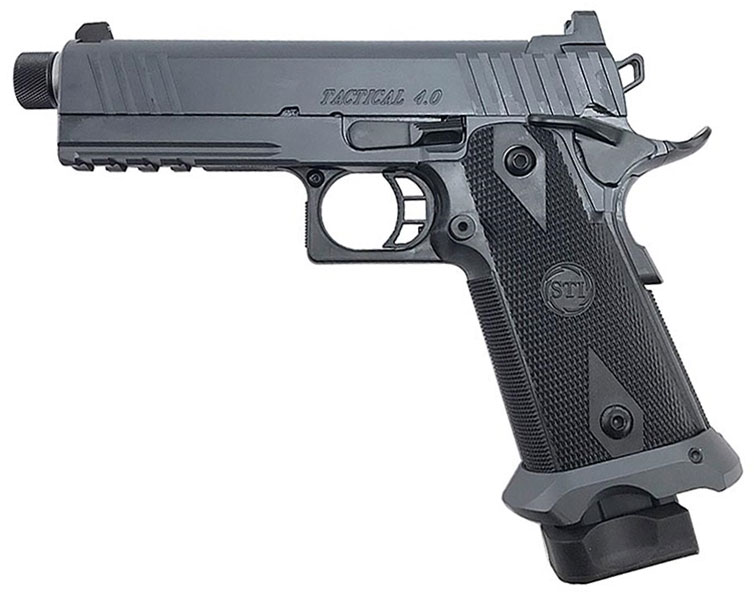 STI Tactical Lite 4.0 2011 Pistol 10-904000, 9mm, 4 in, Steel Frame ...