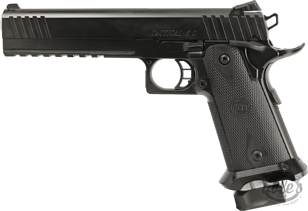 STI Tactical 6.0 2011 Pistol 10-350020, 45 ACP, 6 in, Steel Frame ...