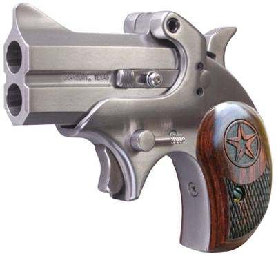 Bond Arms Mini Derringer BAM45, 45 Long Colt, 3 inch, Rosewood Grips, Satin  Finish, 2 Rd - Able Ammo