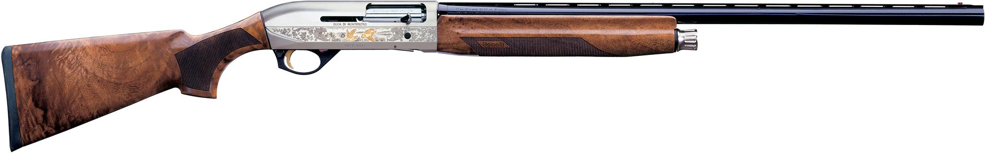 """benelli montefeltro silver shotgun bn10850, 12 gauge, 28"""", 3"""