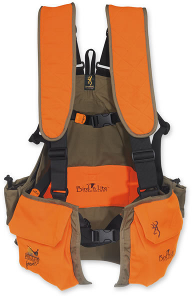 2fa8fb604435f Browning Browning Bird'n Lite Strap Vest w/Pheasants Forever Embroidery  (300689)