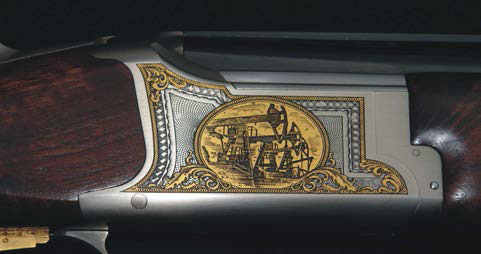 Browning Black Gold Shotgun Detail 1