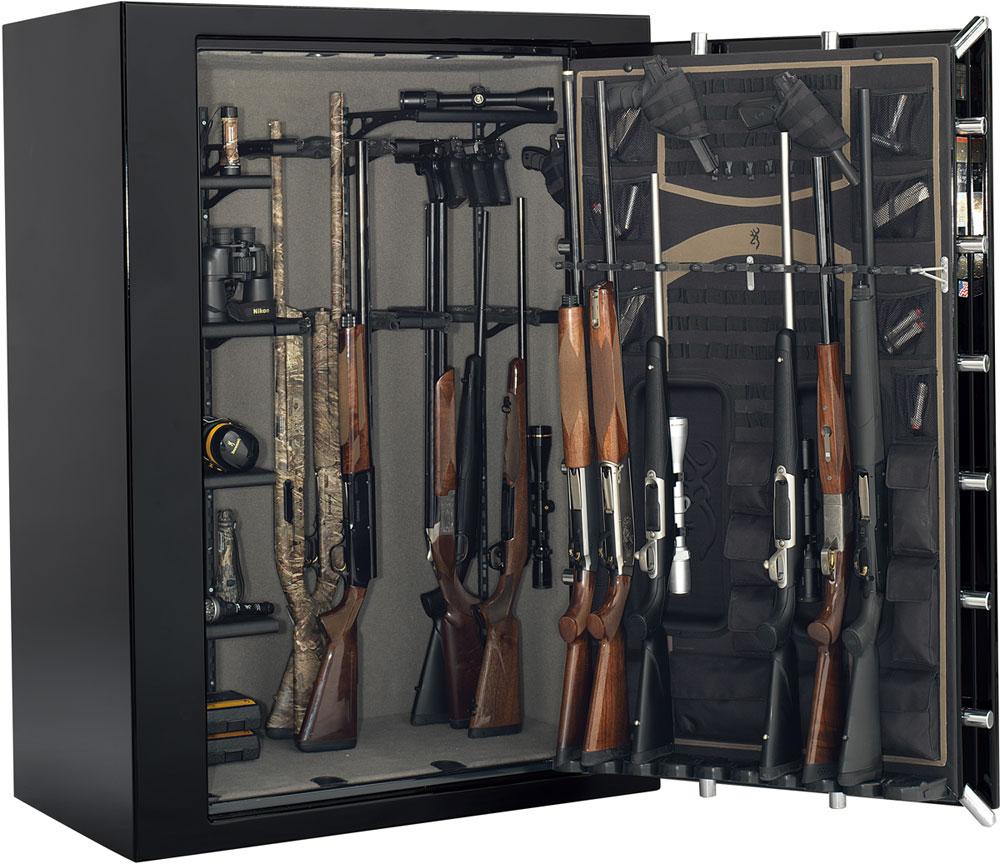 Wide gun safe