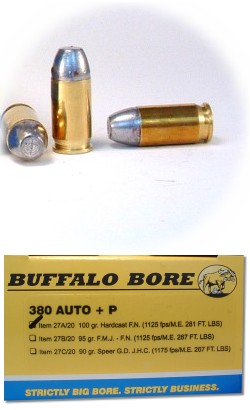 A question for Doc about  380 pocket pistols and their load