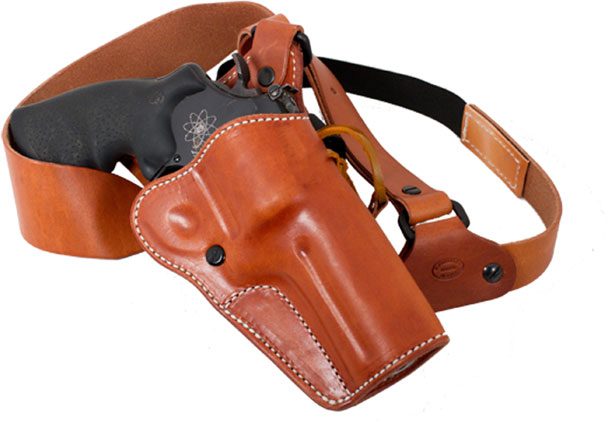 Double D Guide's Choice Leather Chest Smith & Wesson N Frame 4 inch Holster  (GCN4) - Able Ammo