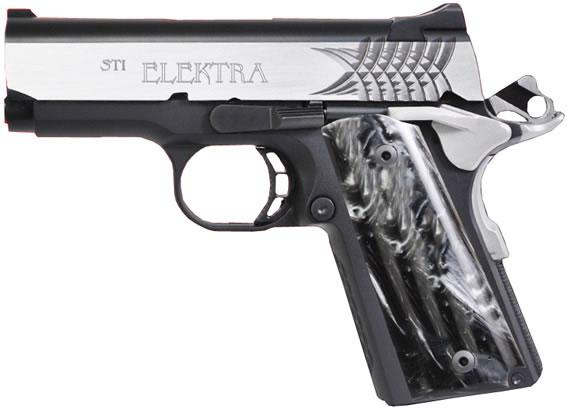 STI Elektra 1911 Compact Pistol 100-30450007, 45 ACP, 3 in, Aluminum ...