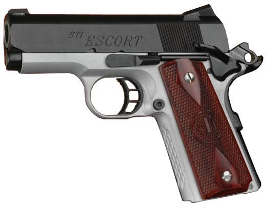 STI Escort 1911 Compact Pistol 100-30450001, 45 ACP, 3 in, Aluminum ...