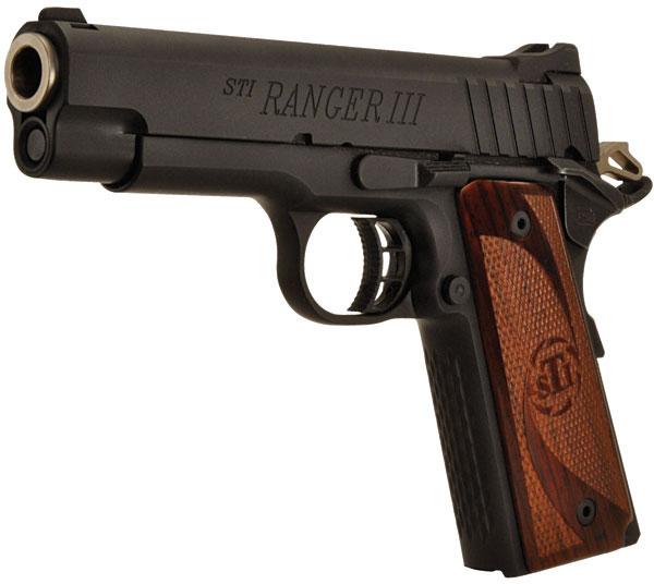 Sti Ranger Iii 1911 Pistol 100 41450008 45 Acp 4 26 In