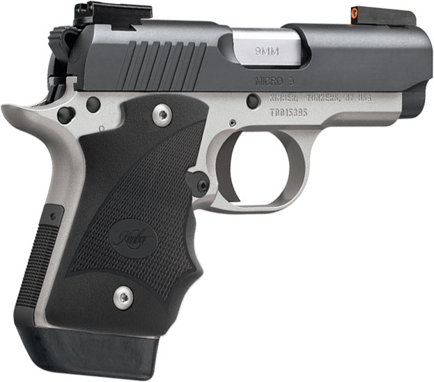 Kimber Micro 9 Stainless Dn 9mm: Kimber 3300195 Micro 9 Two-Tone DN Pistol