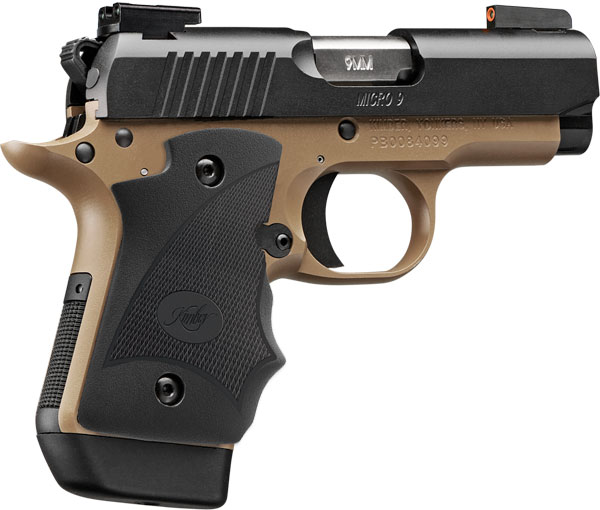 Kimber Micro 9 Stainless Dn 9mm: Kimber 3300175 Micro 9 Desert Night (LG) Pistol