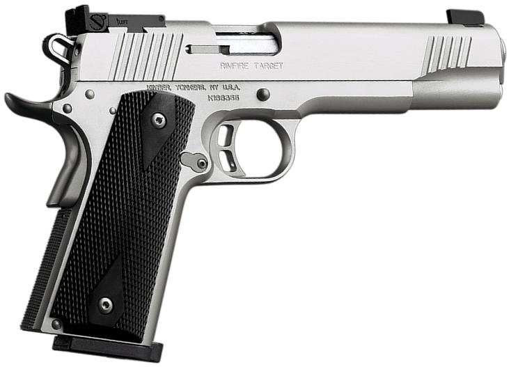 Kimber 3300152 Rimfire Target Pistol 22 Lr Silver 5