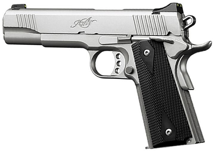 Kimber 3300148 Stainless TLE II Pistol -  45 ACP, 5 in Barrel, Satin  Stainless Steel Frame/Slide, 7 - Able Ammo