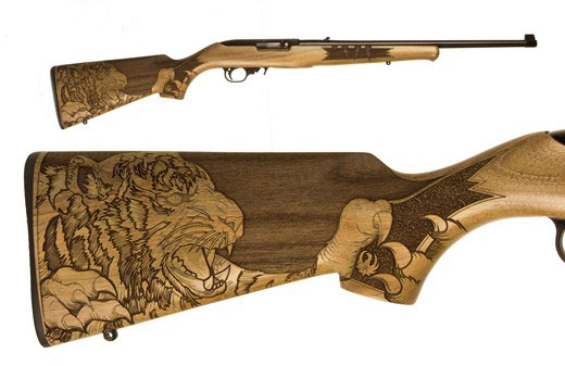 Second edition ruger collector's series 10/22 carbine rifle 22.