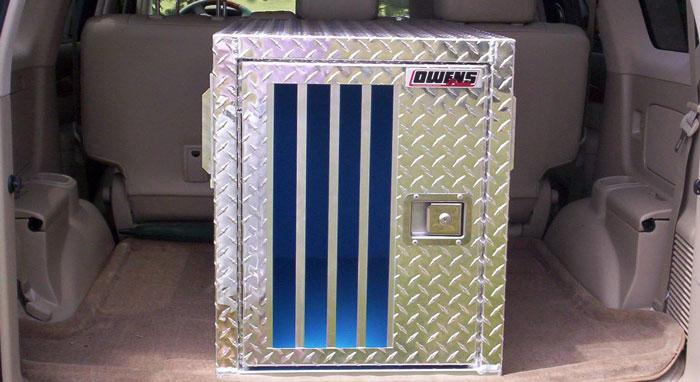 Owens Hunter Series Single Compartment Dog Box W O Storage