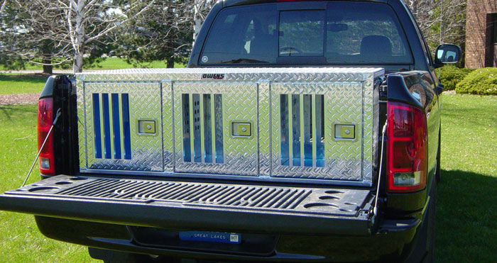 Owens Hunter Series Triple Compartment Dog Box W O Storage