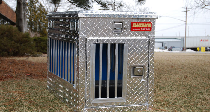 Owens Hunter Series Single Compartment Dog Box W Top