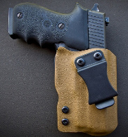 Patriot Holsters George Washington IWB Ruger LCR Holster, Black (IWBRGRLCR)  - Able Ammo