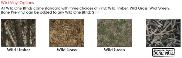 Shadow Hunter Wild Vinyl Options