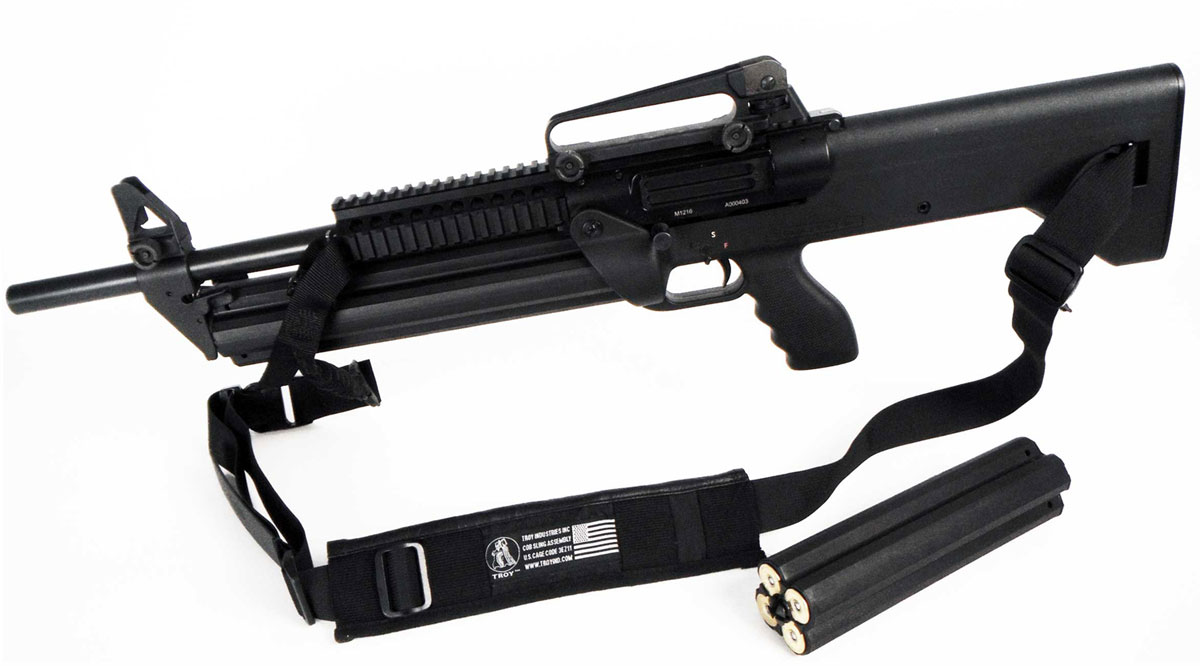 SRM Arms 1216 Armalite Tac Pac Semi-Auto Shotgun TP-ARM-1, 12 Gauge, 18 in,  3 in Chmbr, Synthetic St - Able Ammo