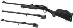 Rossi S2022243YBS Break Open Action Single Shot 20 Gauge 243 Winchester 22LR 22 in 22 in 18 1 2 in