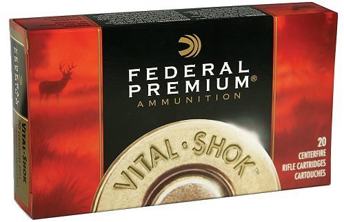 Federal Vital Shock Rifle Ammo P220C, 220 Swift, Sierra Blitzking Bullet,  50 GR, 20 Rd/bx - Able Ammo