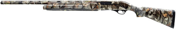 Akkar 600 Left-Hand Semi-Auto Shotgun 67533, 12 Gauge, 28 in, 3 in Chmbr, Synthetic Stock, Camo Finish