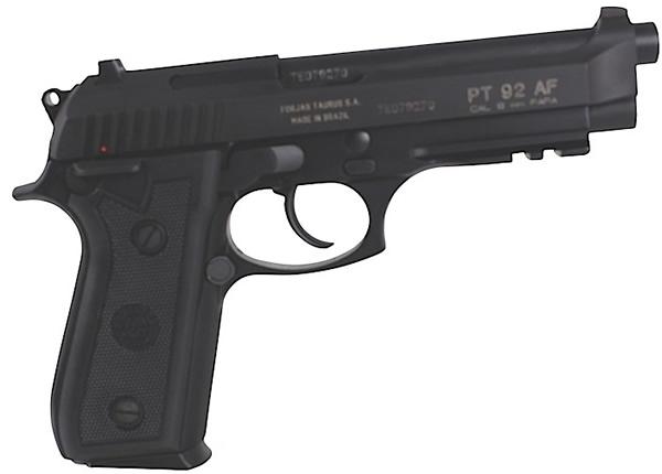 Taurus Model PT-92 Large Frame Pistol 1920151, 9mm, 5\