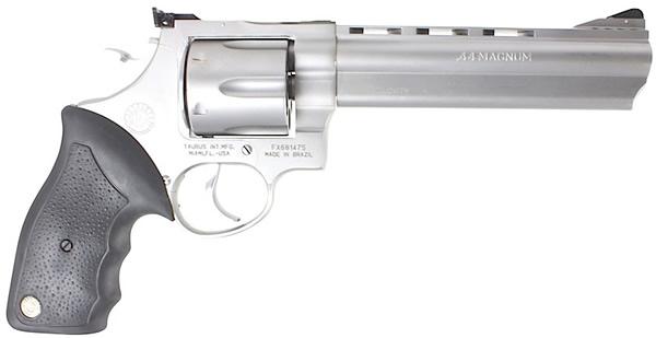 Taurus Model 44 Large Frame Revolver 2440069, 44 Remington Mag, 6 1 ...
