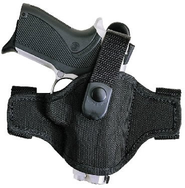 Bianchi AccuMold High Ride Belt Slide Holster w/Thumbstrap, Model 17854,  For DAEWOO DH380, DP52