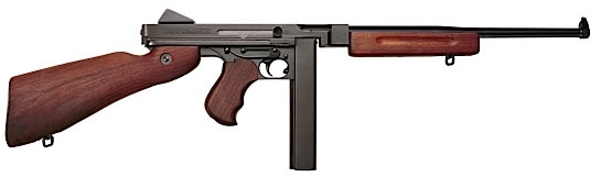 Thompson Model M1 Carbine Rifle TM1, 45 ACP, 16 5 inch, Semi-Auto, American  Walnut Stock, Blue Steel Fin - Able Ammo
