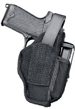 Michaels Auto Sales >> Uncle Mikes Ambidextrous Hip Holster w/Mag Pouch For 4.5 in -5 in Barrel Large Auto, Model 70050 ...