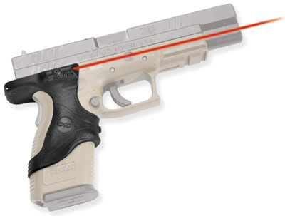 Crimson Trace LG-446 Polymer Grip/Overmold Front Activation Lasergrip For  Springfield Armory XD (9MM - Able Ammo