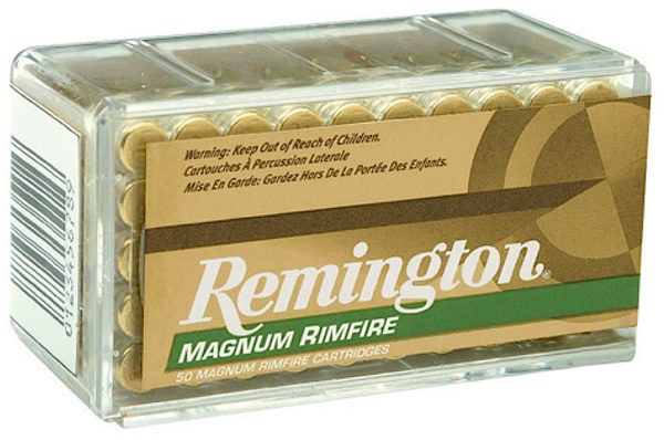 remington rimfire ammo r22m2 22 magnum wmr pointed soft point sp 40 gr 19 able ammo