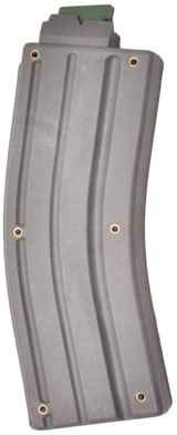 CMMG ARC 22 Long Rifle 25 Round Gray Magazine (22AFC25) - Able Ammo