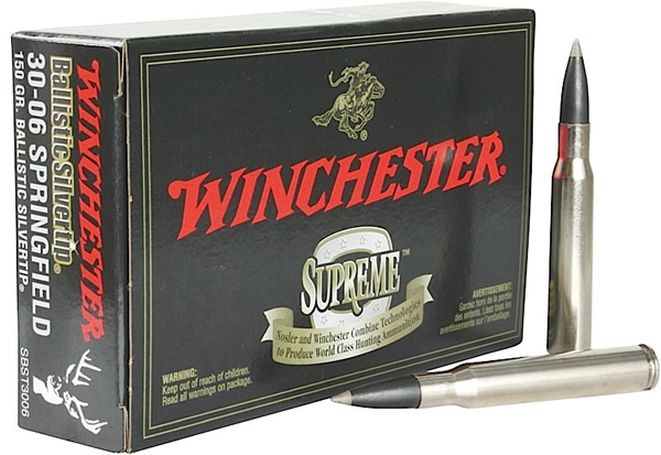 Winchester Supreme Rifle Ammo Sbst3006 30 06 Springfield