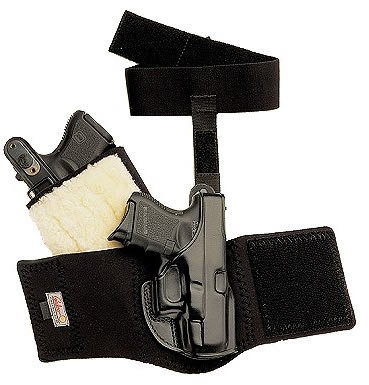Galco Ankle Glove Holster For S&W J Frame Hammered/Hammerless ...