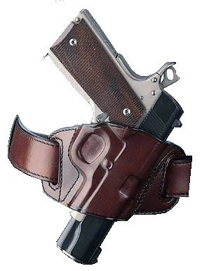 Galco Quick Slide Belt Holster w/Open Top For Sig P220/226/228/229, Black,  Model QS248B - Able Ammo