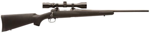 Savage 11/111 Hunter XP Rifle w/Bushnell Scope 19675, 300 Winchester Magnum, 24 in, Blabck Stock, Black Finish