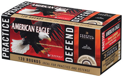 Federal Personal Defense Pistol Ammo Combo Pack PAE9124, 9mm, (FMJ) |  (JHP), 124 GR, 120 Rd/bx - Able Ammo