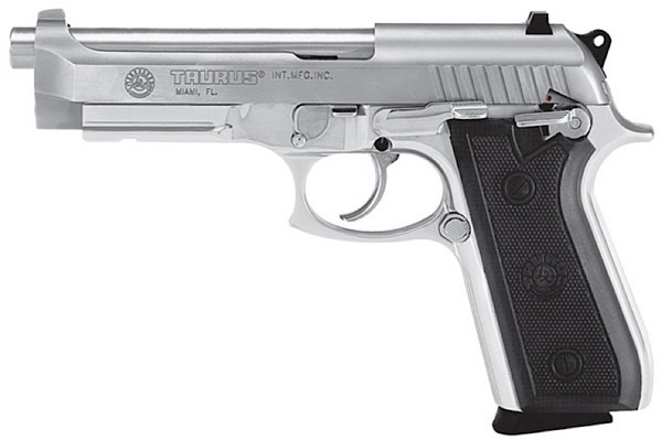 Taurus Large Frame Pistol 110005916, 40 S&W, 5 in, Checkered Rubber ...