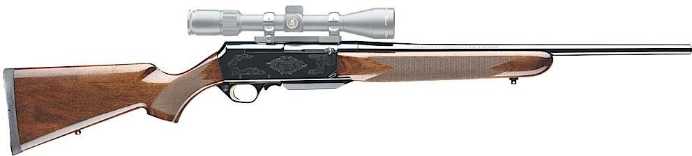 Browning BAR Safari Rifle 031001226 30 06 Springfield 22 Semi Auto Walnut Stock Blue Finish N