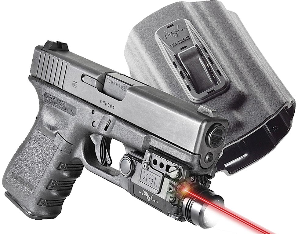 Viridian X5lr Red Laser Sight Holster Package X5lrpackx1