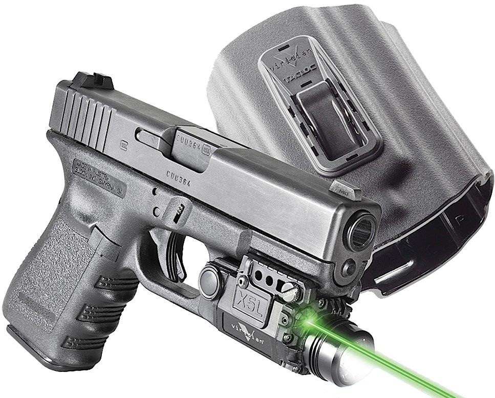 Viridian Xl5 Green Laser Sight Holster X5lpackx1 Fits