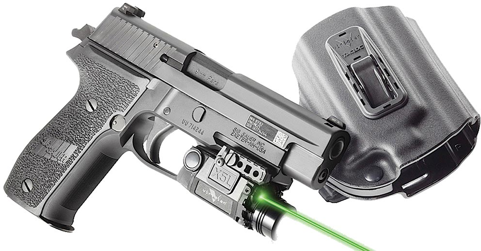 Viridian Xl5 Green Laser Sight Holster X5lpackx9 Fits