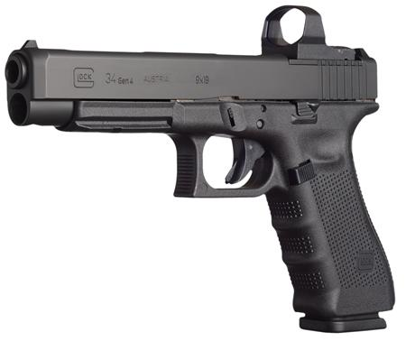 glock g34 gen 4 competition double action pistol